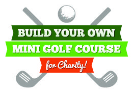 Build Your Own Mini Golf Course Team Building Program Logo