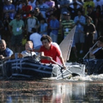 Will your team sink or swim in this wet and wild team building challenge