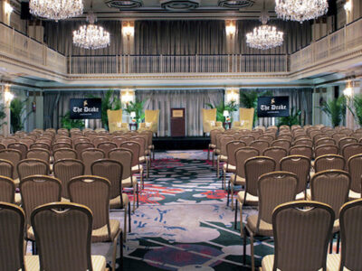 Featured Image For The Drake, a Hilton Hotel Chicago Team Building Venue