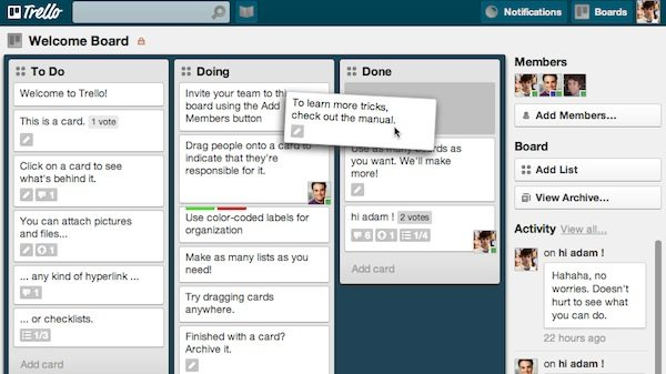 trello fosters effective teamwork