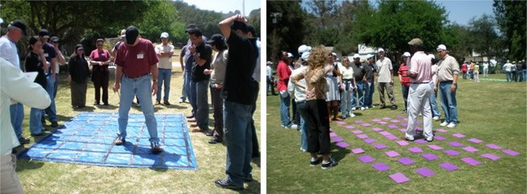 fun team building games