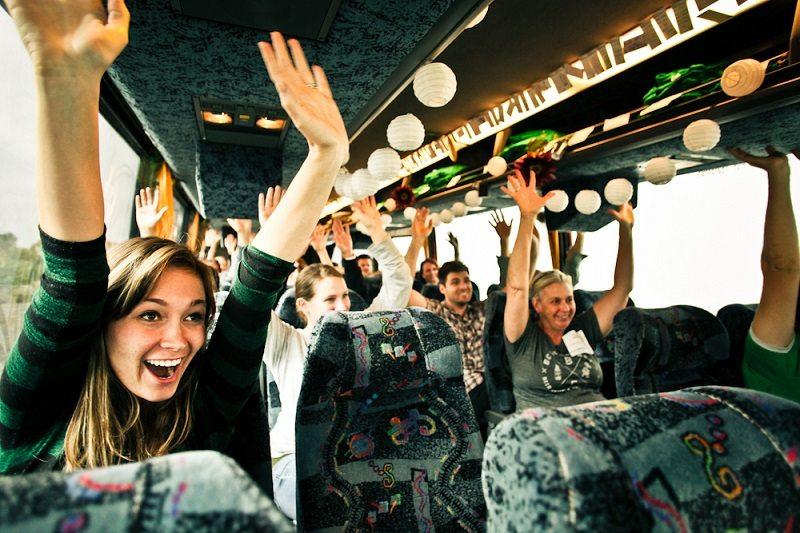 charity team building program: do good bus