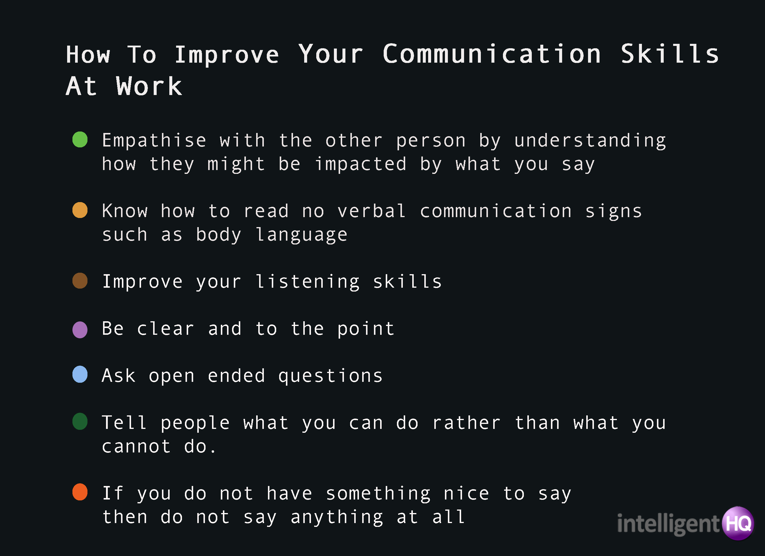 speaking skills in communication