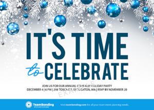 Sample Holiday Invitation Template