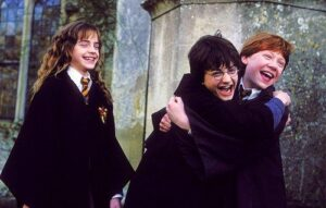 Harry Potter golden trio