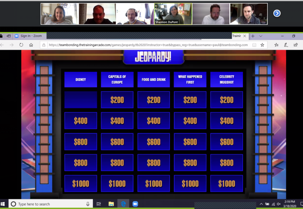 Featured Image For The Official Jeopardy!® – Virtual Game Show Event