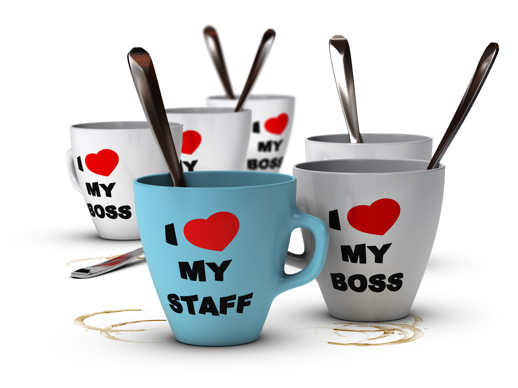 Create strong staff relations and motivation in the workplace.